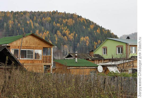новые дома в Унгуте