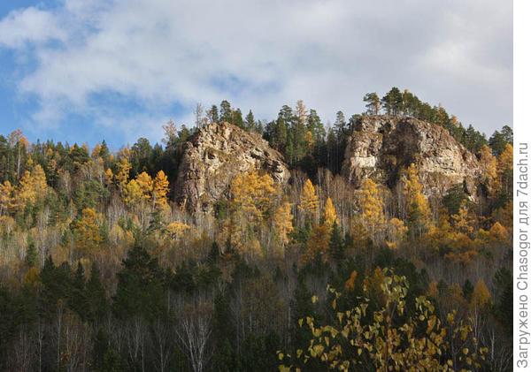 скалы в Унгуте