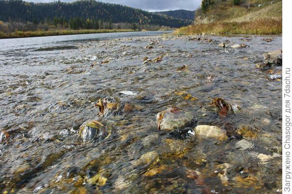 чистая унгутская вода с гор
