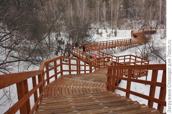 пешеходная тропа в Красноярских Столбах