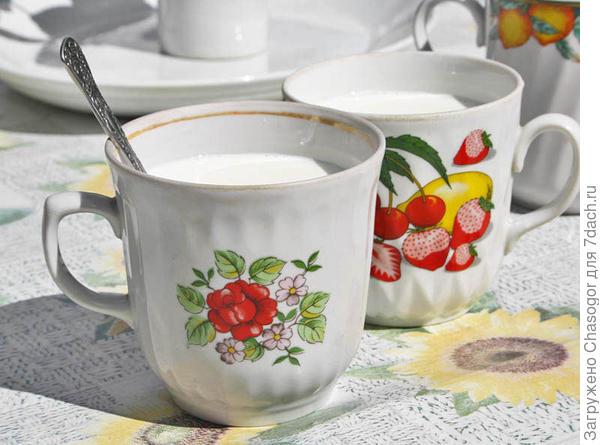 чашки для йогурта