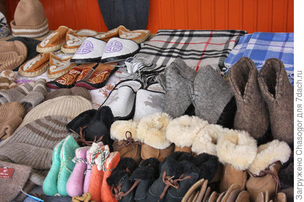 монгольские товары