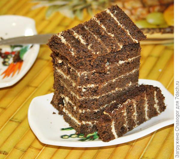 черёмуховый тортик