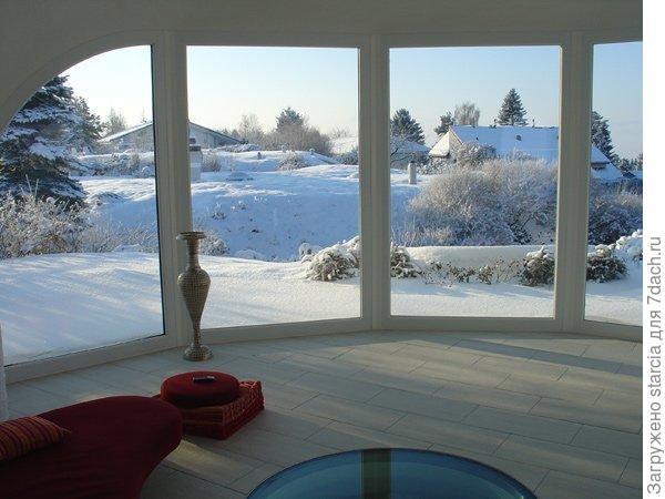 Зима за окном. Фото из интернета