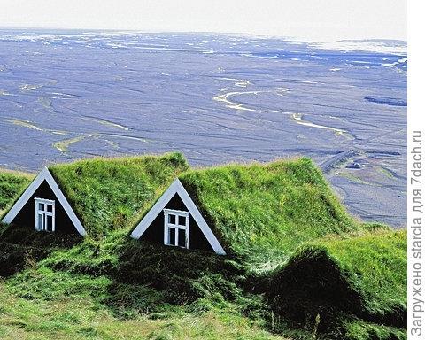 Обвалованные дома. Фото из интернета