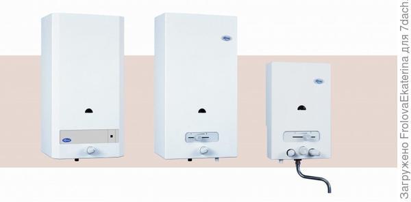 Газовый проточный нагреватель. Фото с сайта sng45.ru