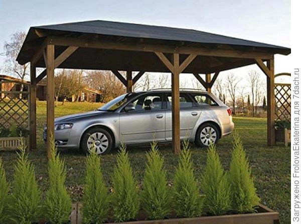 Озеленение парковочного места. Фото с сайта drewolandia.pl