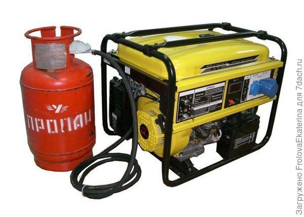 Газовый генератор. Фото с сайта alemont.ru
