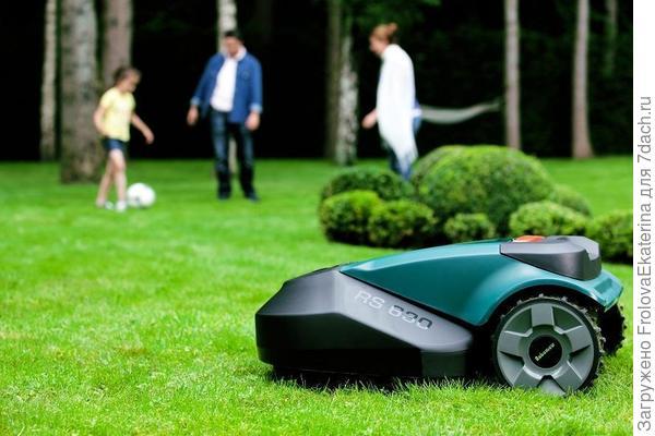 Робот-газонокосилка. Фото с сайта ichip.ru