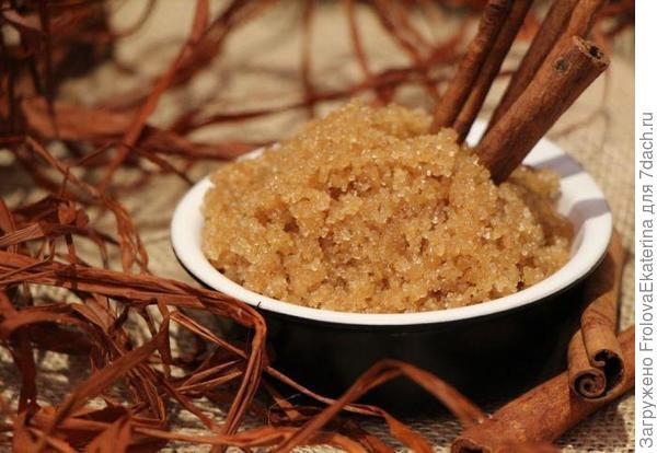 Сахарный скраб. Фото с сайта fb.ru