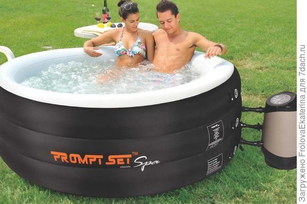 Надувной спа-бассейн. Фото с сайта bydleniunas.cz