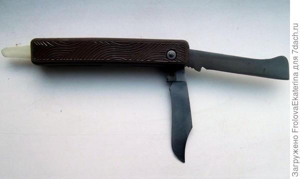 Комбинированный прививочный нож. Фото с сайта nasotke.ru