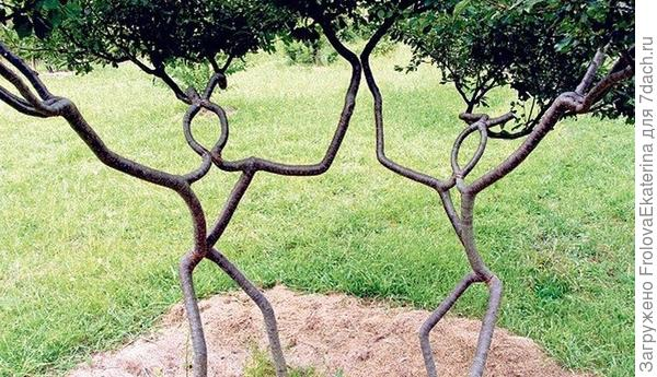 Арбоскульптура. Фото с сайта sdelalsam.su