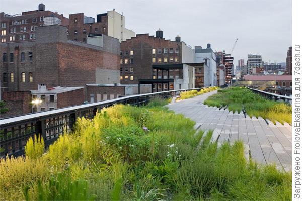 High Line Park. Фото с сайта baunetz.de