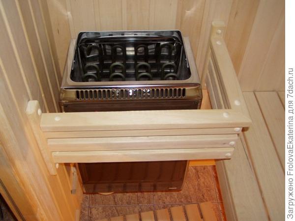 Электрическая печь для бани. Фото с сайта www.s-sauna.com