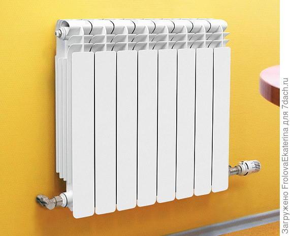 Алюминиевый радиатор. Фото с сайта invoz.ru