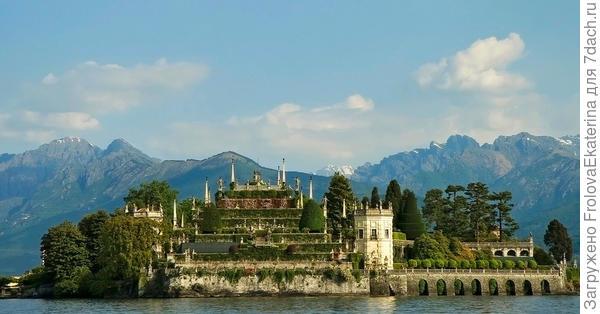 Резиденция на острове Isolo Bella. Фото с сайта www.logos.co.at