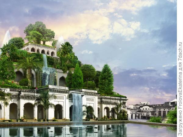 Реконструкция садов Семирамиды. Фото с сайта foneyes.ru