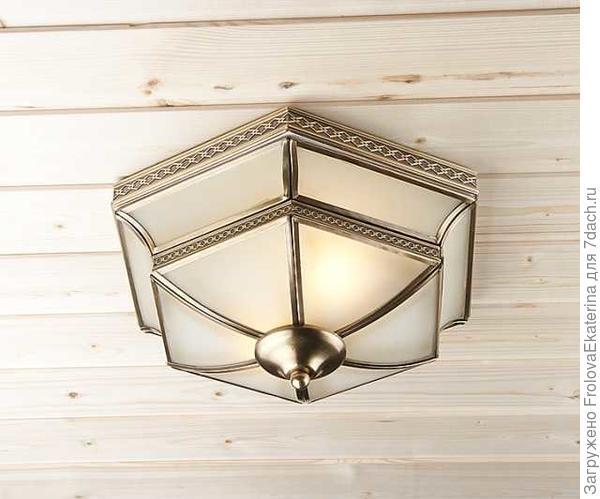 Потолочный светильник. Фото с сайта stroyvms.ru