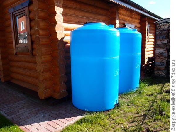 Бочка для накопления воды