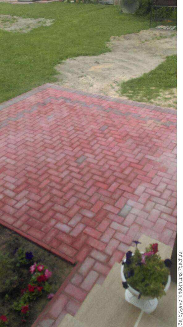 Чем отмыть цементный раствор с брусчатки бетон купить цена санкт