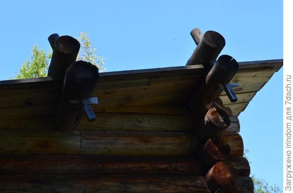 крепление теса на крыше