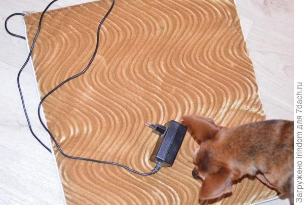 Электрический теплый коврик