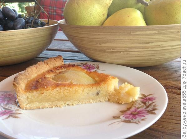 Грушевый тарт