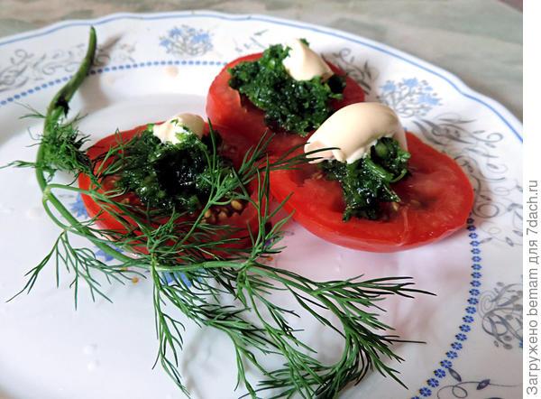На помидорки.