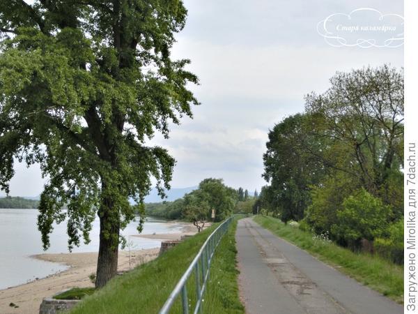 Велодорожка в сторону Словакии