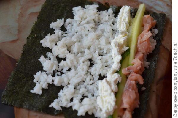 суши полуфабрикат