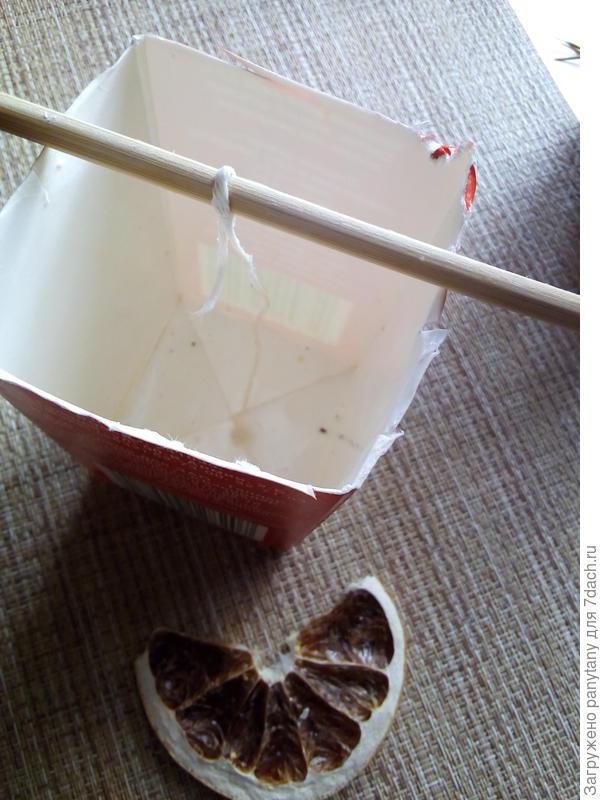 Свечи - осенние - своими руками из подручных материалов