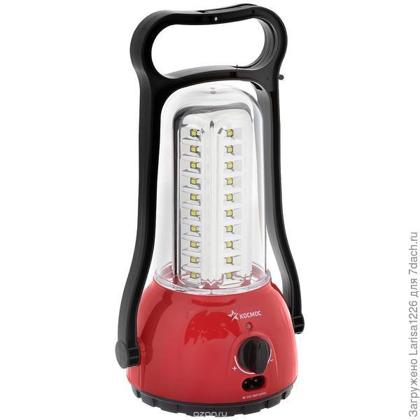 Примерно вот такой фонарь, очень удобно при отсутствии электричества или перебоях с ним.