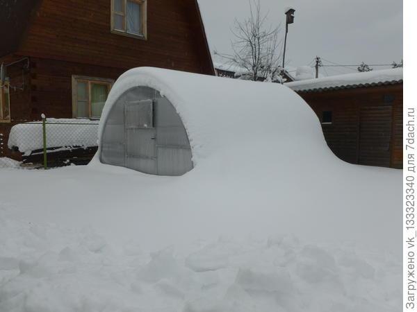 снеговую нагрузку выдерживает