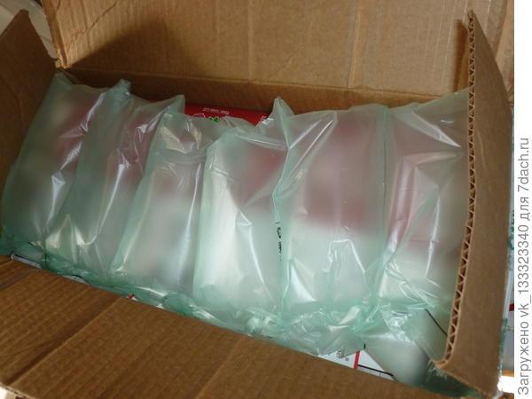 воздушные пакетики в посылке