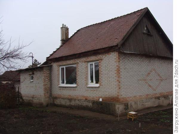 Окна зала и кабинета