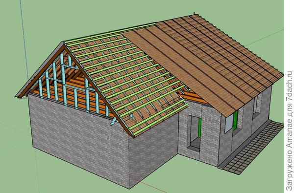 Начали подготавливать проект для дальнейшей реконструкции, подсчёт и закупку необходимых материалов