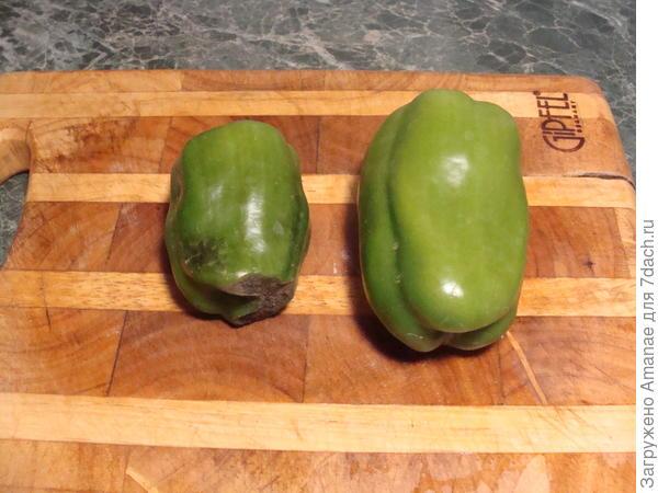 7 июля, первые плоды перца Биг Мама
