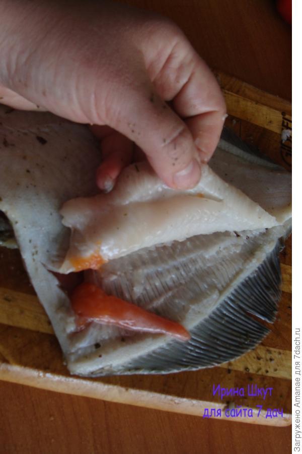 Отделяем мясо от костей - готовим филе