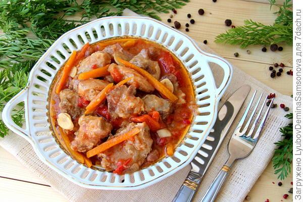 готовое блюдо из курицы