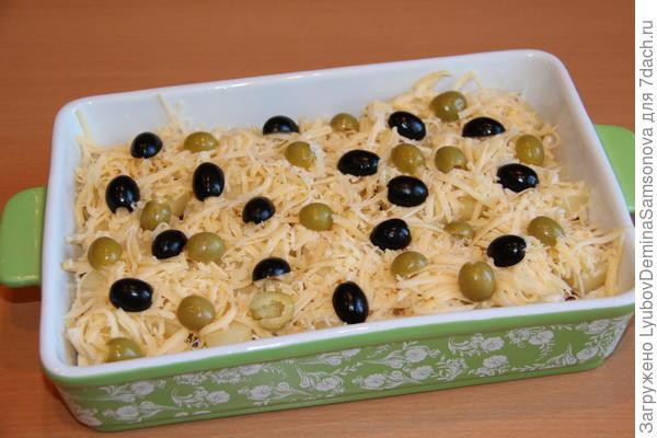 сыр, маслины и оливки