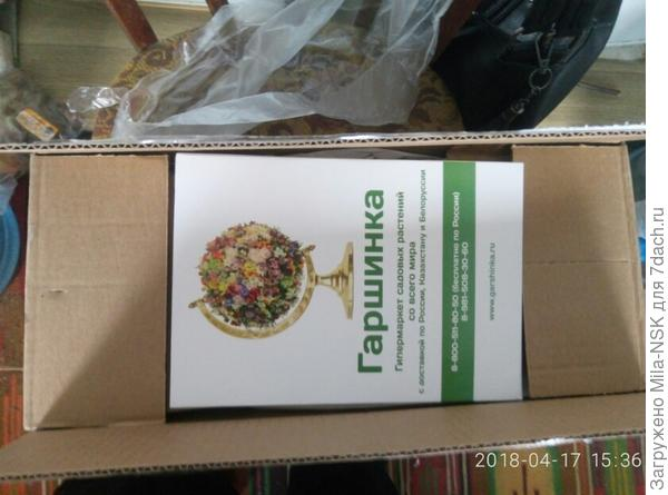 Упакованы в коробку.