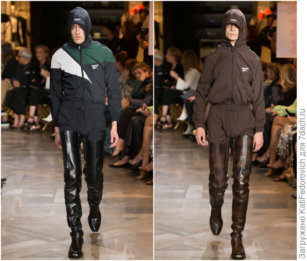 Образы с показа Vetements