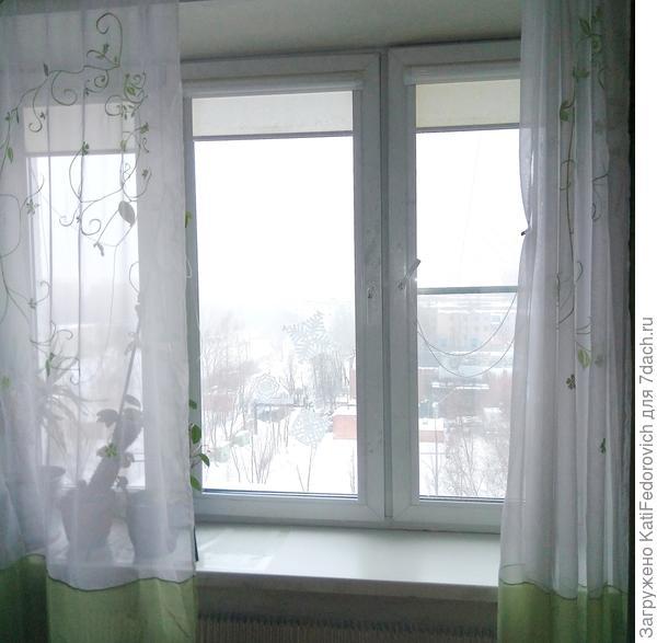 большое окно