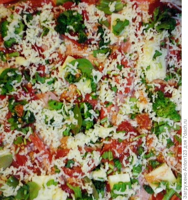 начинка пицца
