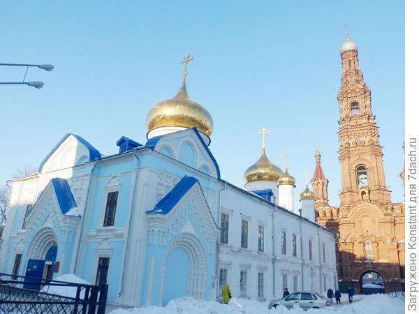 Богоявленская церковь с колокольней