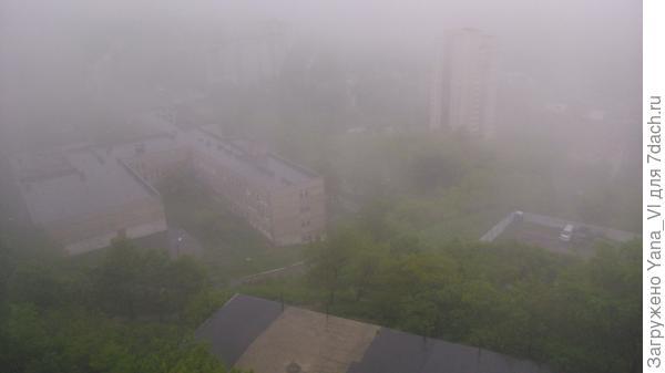 Тот самый туман, плавно переходящий в морось