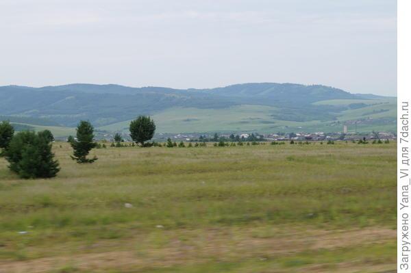 деревня на горизонте