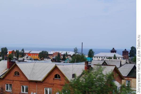 на горизонте - Байкал