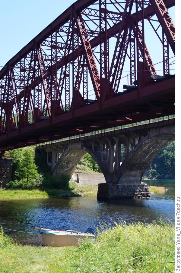 мосты старый и новый